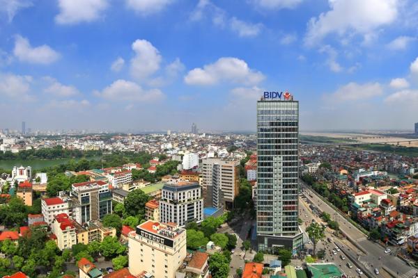 Toàn cảnh tháp BIDV